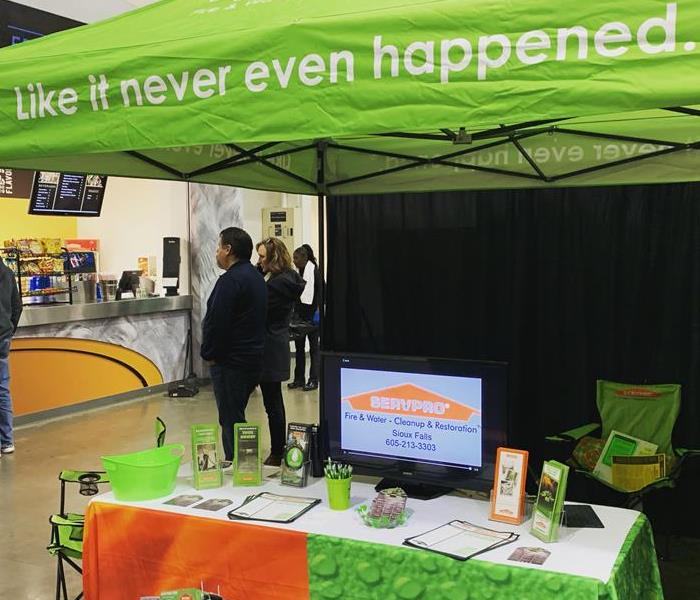 SERVPRO booth at trade show