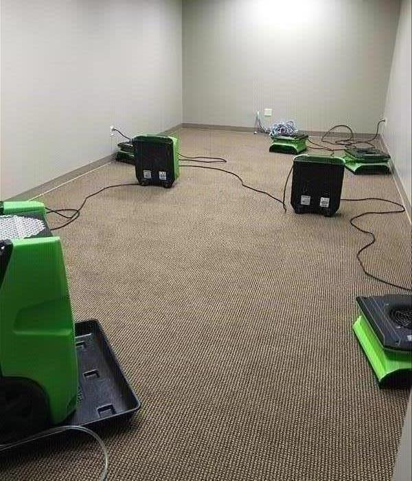 Various SERVPRO Drying Machines