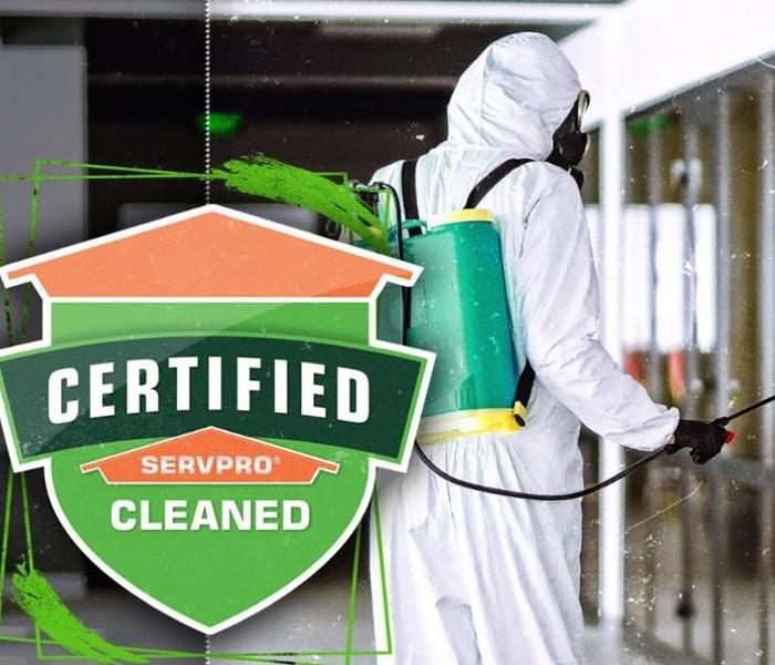 Certified: SERVPRO Cleaned promotional image